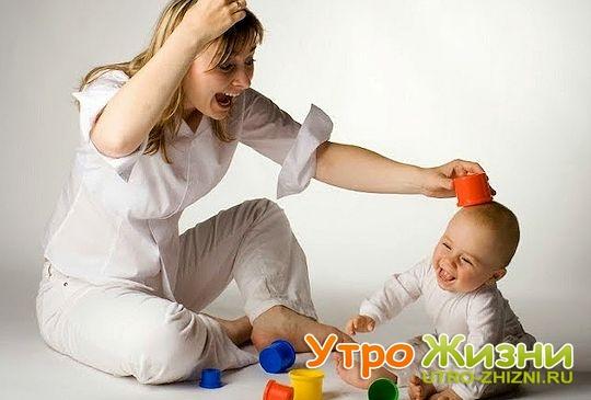 Развивающие игры с ребенком.