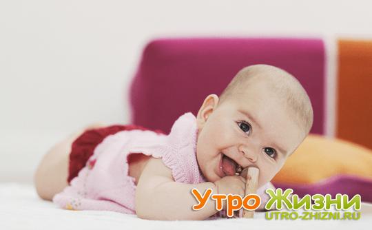 Умения, навыки и физическое развитие ребенка в 5 месяцев