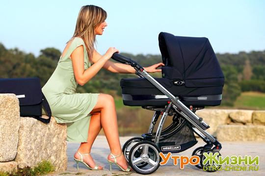 Как выбрать коляску для новорожденного.