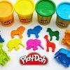 Играй и изучай цвета с Play Doh