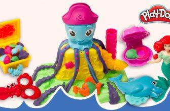 Играй и учись. Весёлые крабы из Play-Doh — Funny Crab.