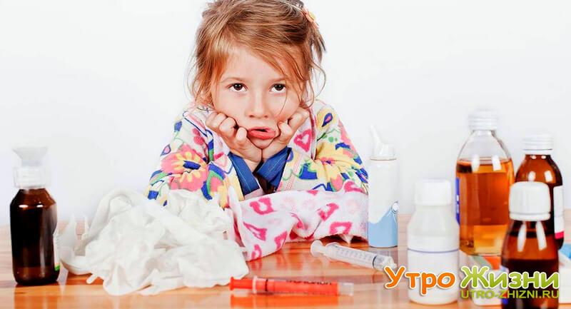5 причин, по которым дети часто болеют зимой