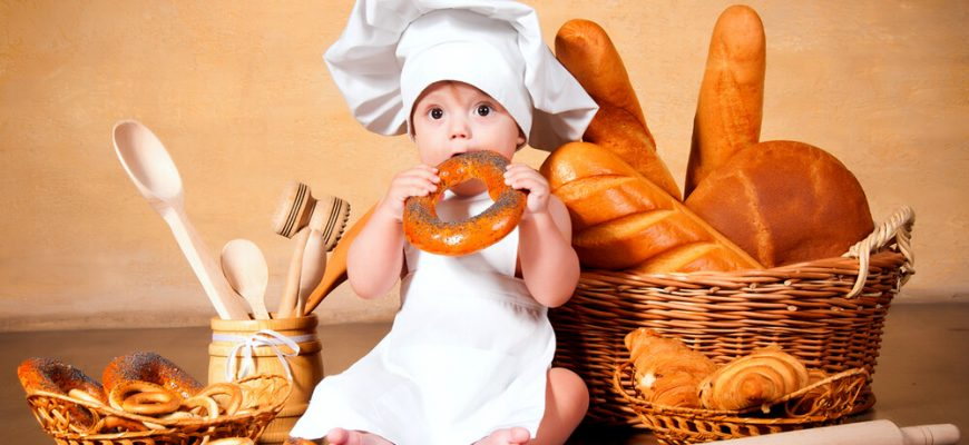 Какая выпечка будет полезной для вашего ребенка