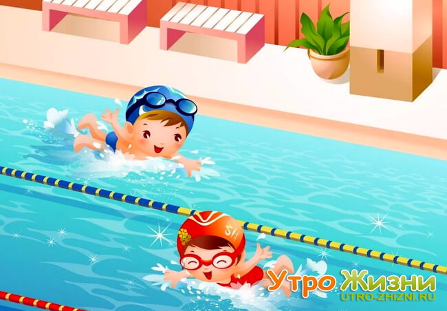 Плавание в дошкольном образовательном учреждении